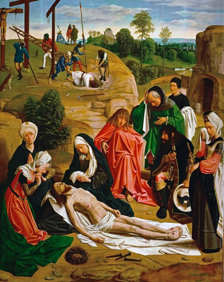 Geertgen tot Sint Jans (1460/1465 – до 1495) Оплакивание Христа