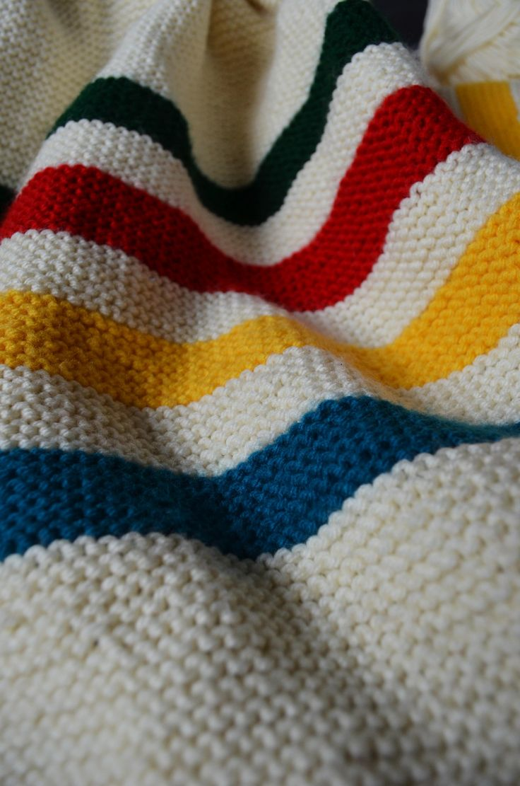 Hudson Bay Blanket Knitting Pattern : 17 Best images about Yarn, Knitting Crochet on Pinterest Fair isles, Cable ...