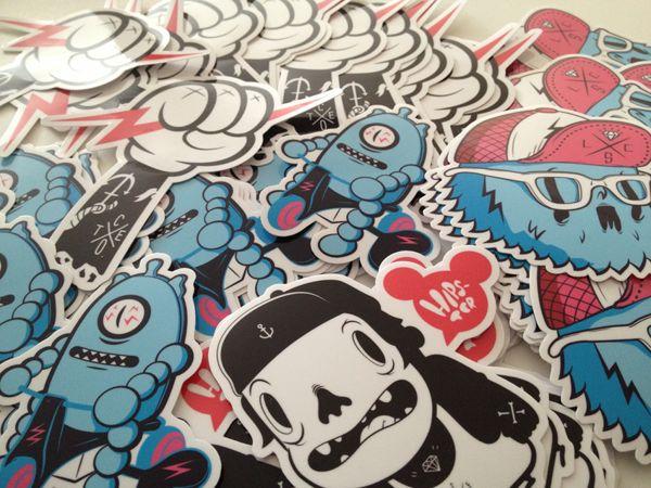 Stickers by coté escrivá