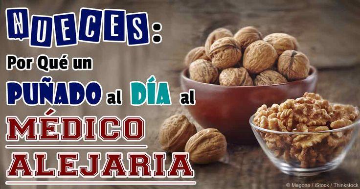 """Entre todos los frutos secos, las nueces pueden ser """"el rey"""" porque mejoran la salud de varias maneras. Aquí están siete beneficios de las nueces."""