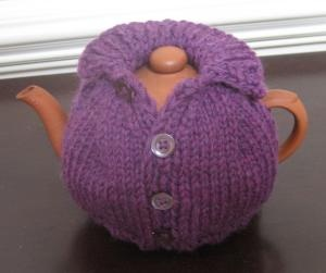 Waistcoat tea cosy, saw a lot of these on trip to Ireland last year:-) so cute!