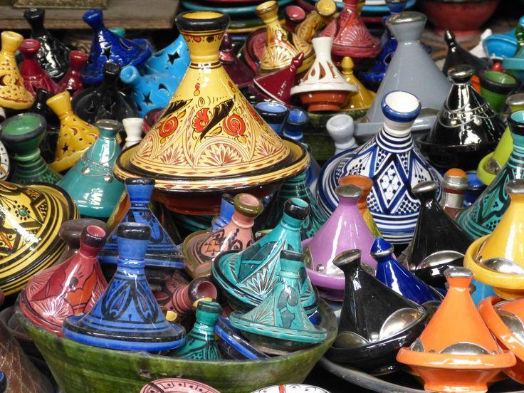 Tajines for sale in Marrakesh