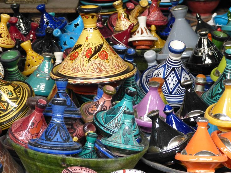 Tajines for sale in Marrakesh