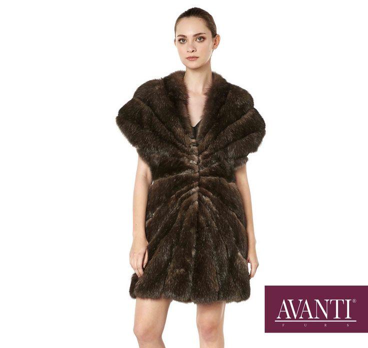 AVANTI FURS - MODEL: MARZENA SABLE JACKET #avantifurs #fur #fashion #fox #luxury #musthave #мех #шуба #стиль #норка #зима #красота #мода #topfurexperts