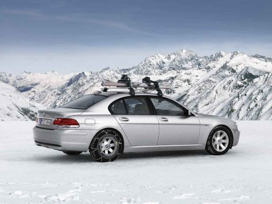 Bmw 7 Series Sedan E65 Lzi Aerodynamic Package Snow