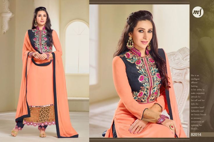 #Latest #Bollywood #KarishmaKapoor #MF #Georgette #ShalwarSuit #WeddingSuit #DesignerSuit #SalwarKamee