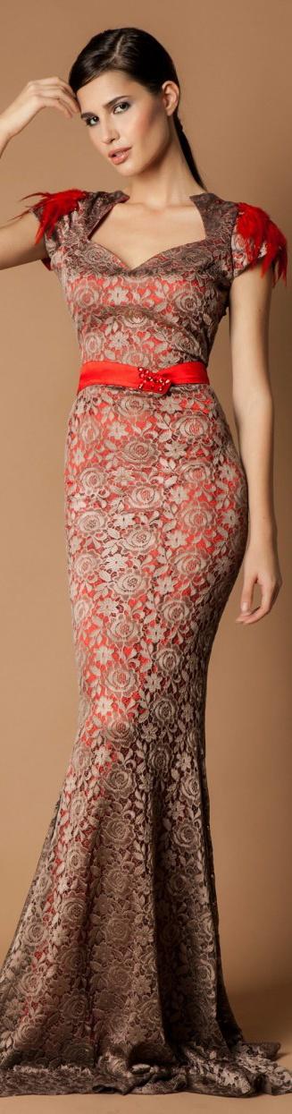 Rochie Couture Dantela Cristallini Limited Edition