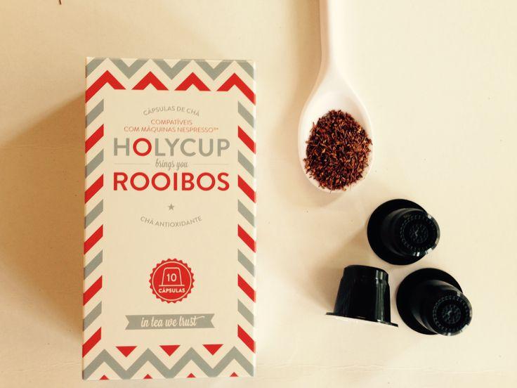 Ainda estamos no início da semana. A HolyCup dá uma ajuda. Chá 100% natural em cápsulas compatíveis com máquinas Nespresso®.