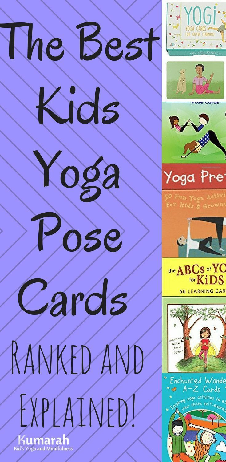 The Best Durable Yoga Cards For Kids Teaching Yoga To Kids Kids Yoga Poses Yoga For Kids