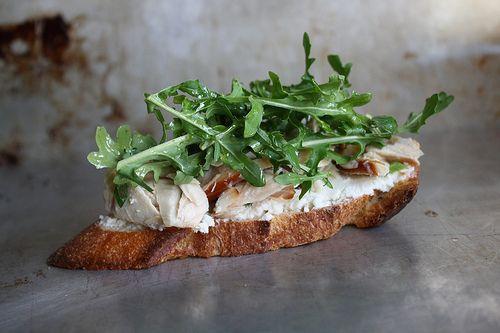 Smoked Fish Crostini Recipe — Dishmaps
