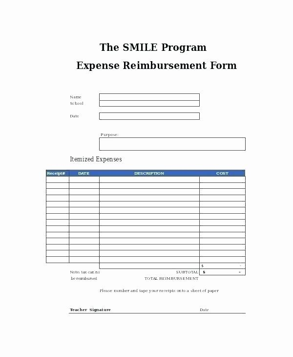 Reimbursement Form Template Word Lovely Employee Expense Reimbursement Form Template Free Account Templates Email Template Business Resume Template Free