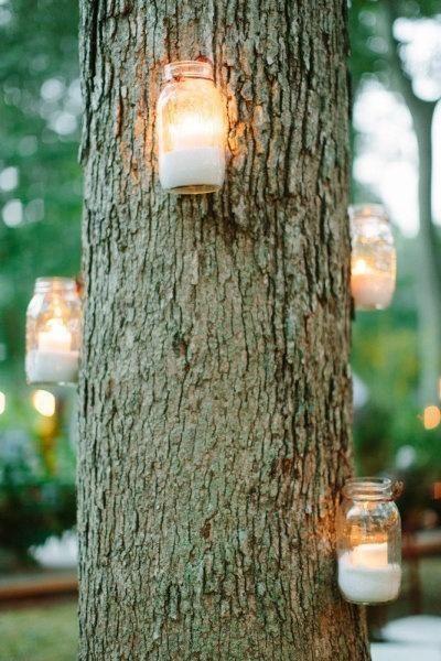 iluminación para decorar arboles para eventos.