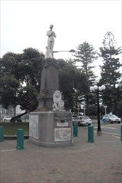 Boer War Memorial, Marine Parade, Napier, Hawke's Bay, New Zealand. - Boer Wars Memorials and Monuments on Waymarking.com First erected in 1906, this memorial suffered badly along with the rest of the town in the 1931 earthquake and was not rebuilt until after the Second World War, in 1947. NORTH ISLAND NEW ZEALAND
