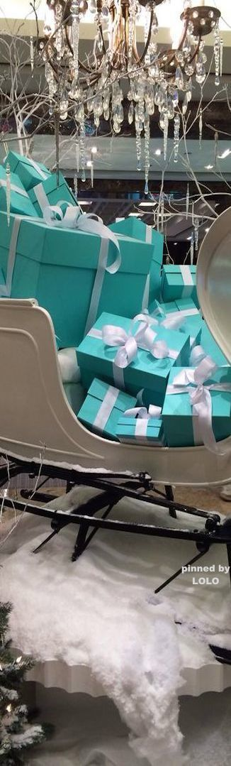 ❊ Christmas at Tiffany's ❊ / Tiffany Gifts
