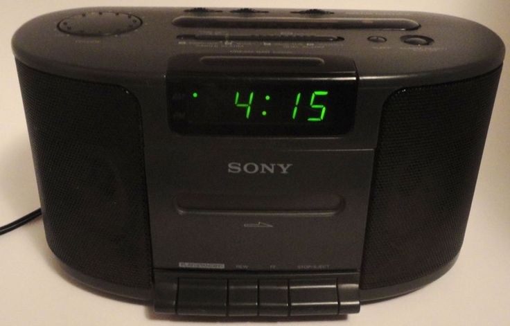 Vtg Sony Dream Machine Tape Player Green LED Alarm Clock Radio ICF-CS650 Stereo #Sony http://stores.ebay.com/pricelessfinds/Vintage-Collectible-/_i.html?_fsub=10901744017