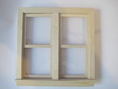 12th scale sash windows