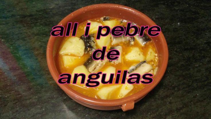 all i pebre de anguilas al estilo de Mariaje, cocina mediterranea, española, valenciana, sana, fácil, receta, dieta, anguila, pescado, patata, ajo, cayena, picante, aceite oliva virgen extra