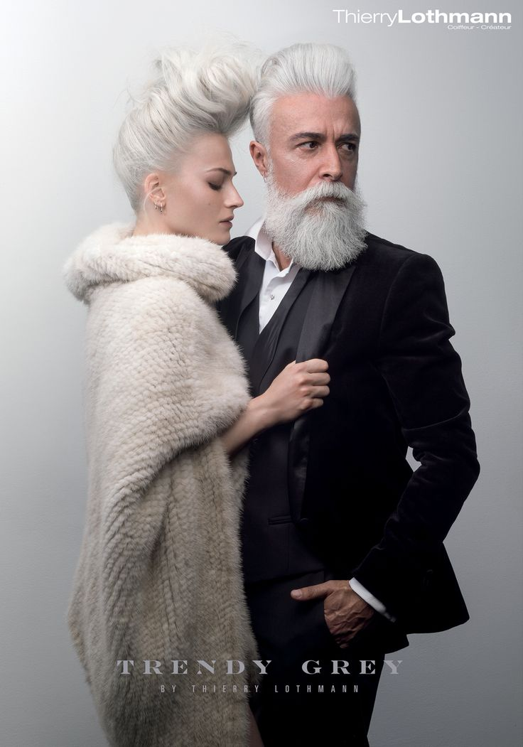 Collection TRENDY GREY de Thierry Lothmann Coiffeur - Créateur - http://www.lothmann.com/trendy-grey-collection-coiffure-thierry-lothmann-201516/