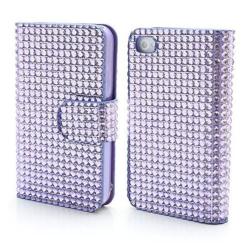 FoneBitz - Bling crystal wallet case for iPhone 5/5s