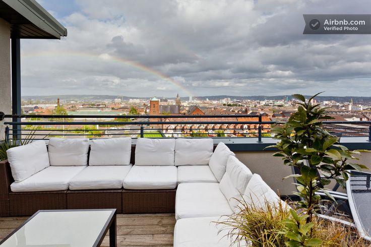 Luxury Penthouse, Ensuite, Hot-Tub in Belfast