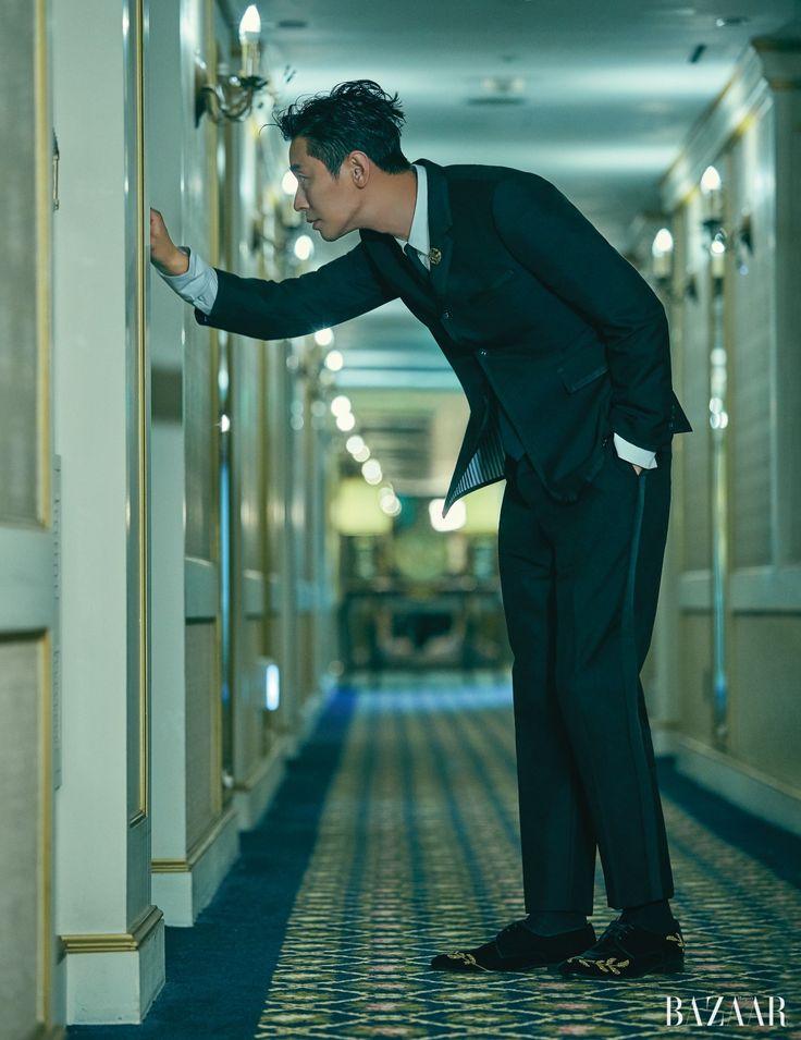 Feb 12, 2020 - Joo Ji Hoon For Harper's Bazaar | Couch Kimchi