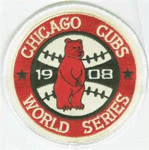 This was the last World Series patch the Cubs would wear. The Cubs have the longest championship drought in the MLB. #JimmBobChicago