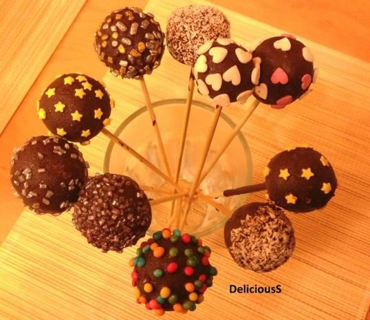 Sehr dekorative Süßigkeit