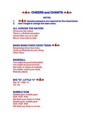 cheerleading chants - Yahoo Image Search Results u2026 cheer board - cheerleading tryout score sheet