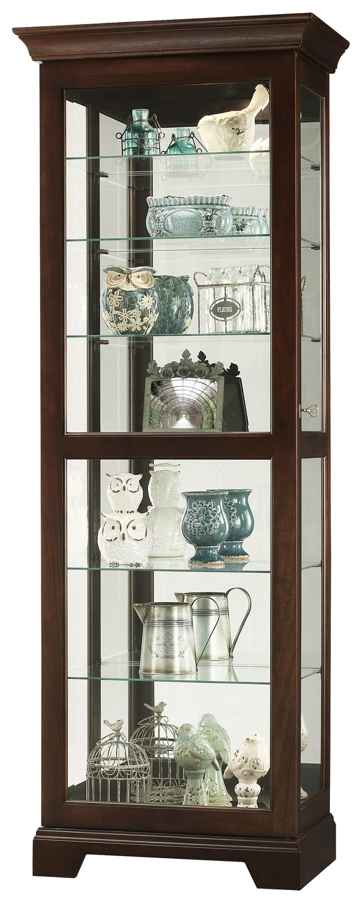 Martindale II Curio Cabinet | Howard Miller | Home Gallery Stores