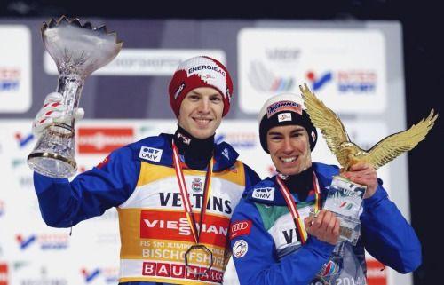 Michael Hayböck and Stefan Kraft