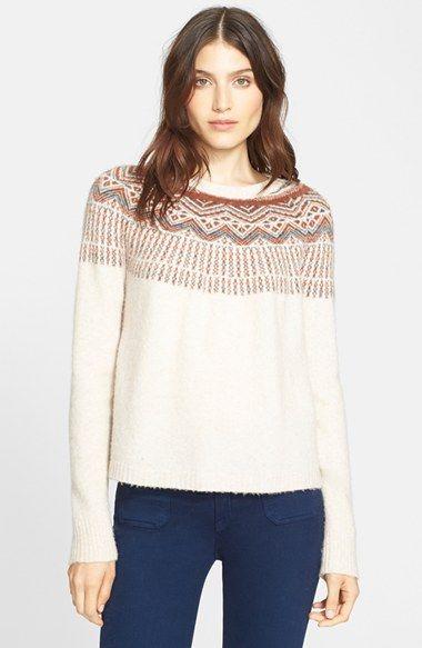 14 best Fairy Isle Sweaters images on Pinterest | Knitwear, Blouse ...