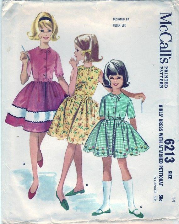 McCalls 1961 6213