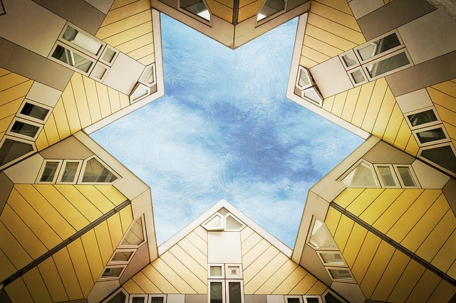 Kubuswoningen (cube houses) Rotterdam, The Netherlands
