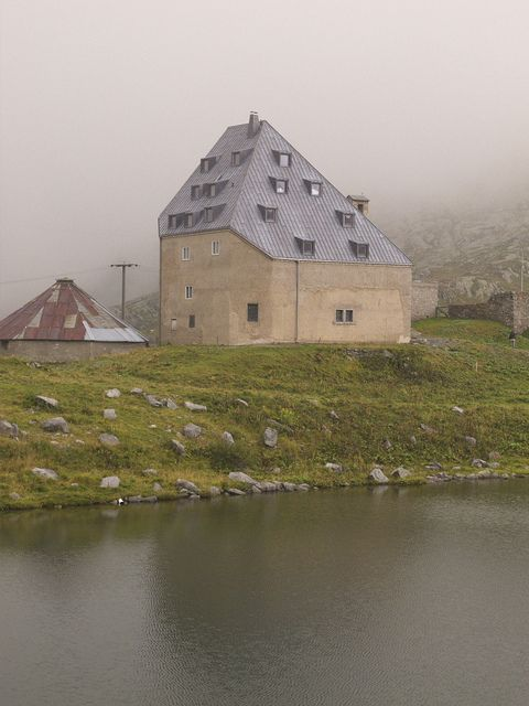 Hotel, St. Gotthard Pass by archidose, via Flickr