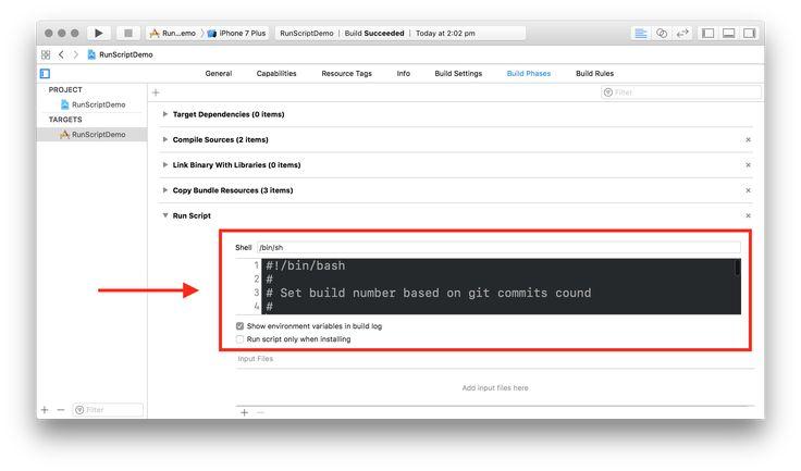 Better Xcode Run Script Build Phases