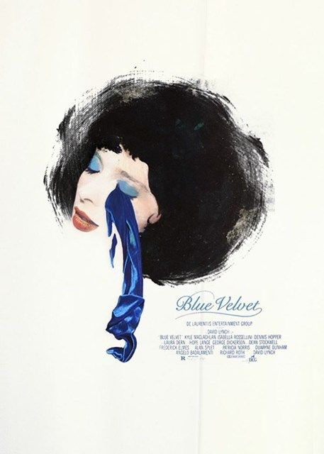 Blue Velvet movie poster   www.lab333.com  www.facebook.com/pages/LAB-STYLE/585086788169863  www.lab333style.com  www.instagram.com/lab_333  lablikes.tumblr.com  www.pinterest.com/labstyle