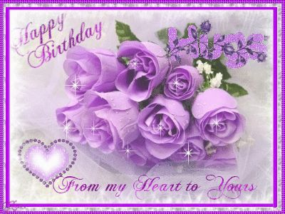 Happy Birthday from my heart to yours