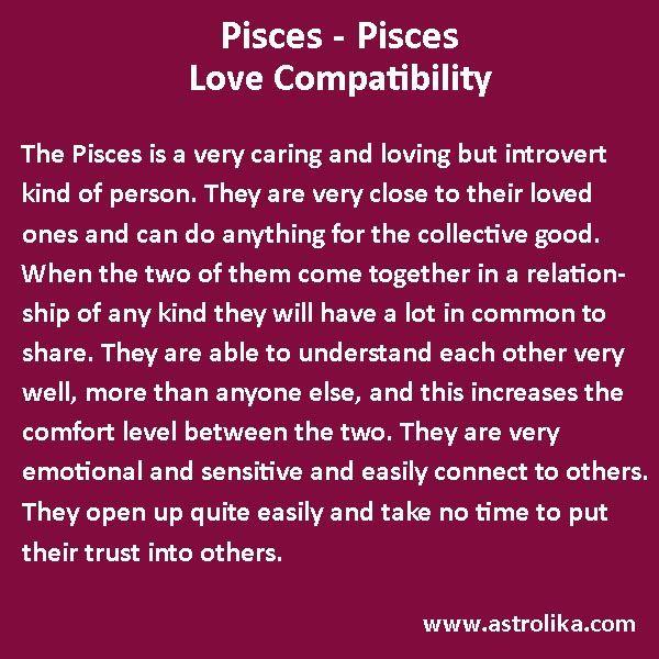 Pisces Woman Pisces Man Love Compatibility
