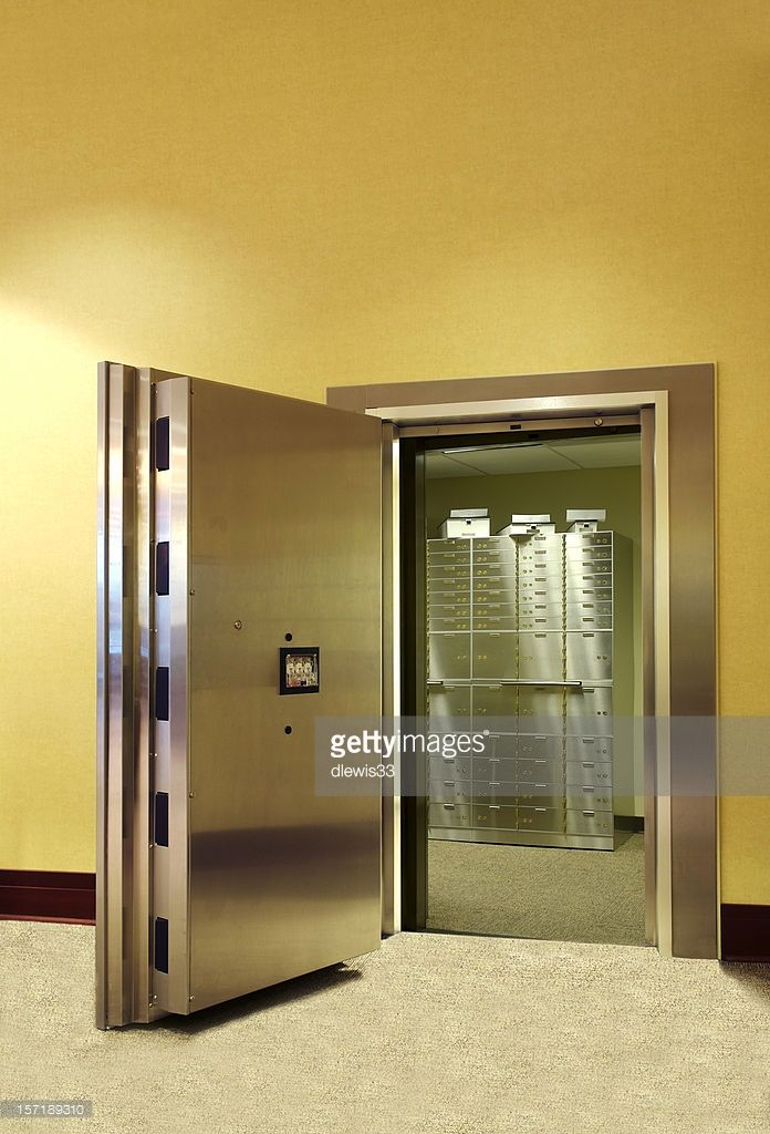 Image result for A safe-deposit box bank room