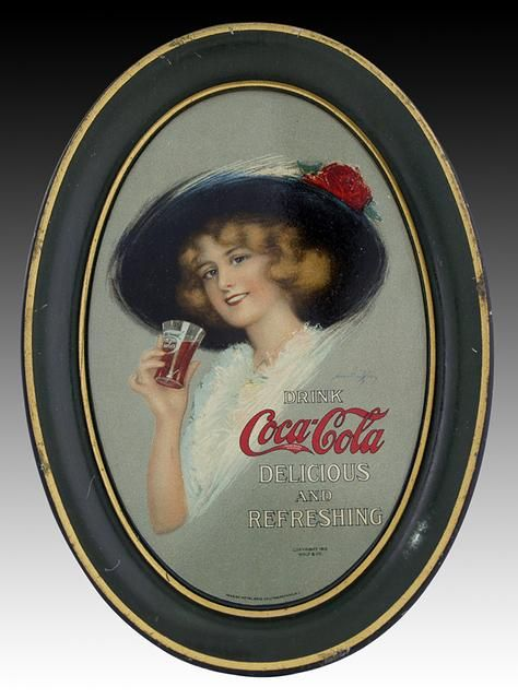 Coca Cola Ad Tray 1906