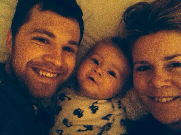 Greg, Theo, and Denise Horan