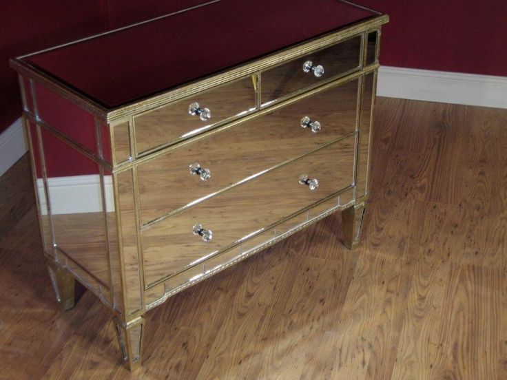 Chest of Mirrored Chest Of Drawers Female - http://www.seasideballoonfest.com/chest-of-mirrored-chest-of-drawers-female/ : #Chests Turn a boring ugly chest of mirrored chest of drawers in a fairly comfortable, feminine, with just a few simple ideas. You not have to cost a lot of money or involve a lot of time or tools to convert your thrift store in the brown chest of drawers into a shabby chic dream for you or feminine...