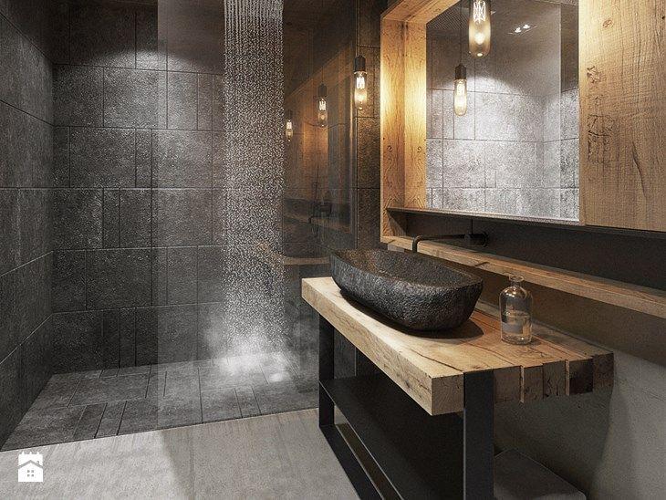 Bielsko - Biała - Duża łazienka, styl nowoczesny - zdjęcie od razoo-architekci