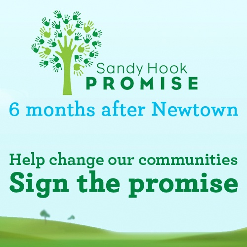 Sandy Hook Promise...... These parents lost their children in an unfair and untimely manner, and now they are trying to protect yours. The least you can do is join them. Sign the promise.