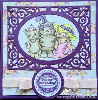 Furry Friends - Wags 'n' Whiskers Julie's Craft Haven: August 2015