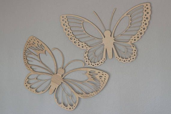 Butterfly Wall Hanging Accent Light by LightingBySara on Etsy