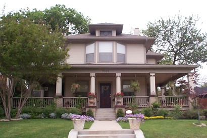 9 best vickery place images on pinterest dallas texas for Craftsman style homes dfw