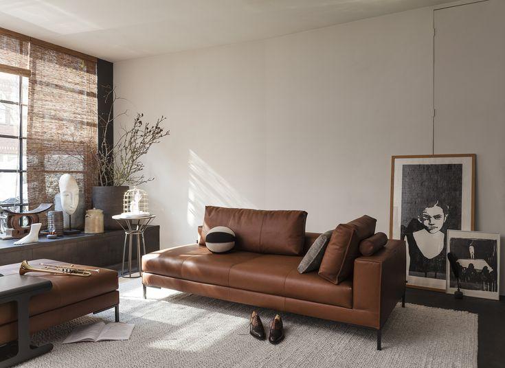 Aikon Lounge | DesignOnStock #leather #dutchdesign #DOS #201605