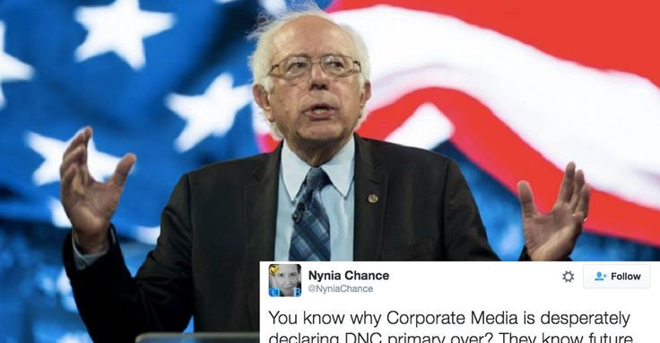 """Bernie Sanders Supporters Have Taken Over Twitter and It Is Glorious! March 17, 2016 Despite the corporate media repeating the """"Hillary is inevitable"""" narrative ad nauseum after the March 15 primary contests, Bernie Sanders' base is taking Twitter to tell everyone why they're refusing to give up. As of 9:30 Eastern time on Wednesday night, #StillSanders was the top nationwide trend on Twitter:"""