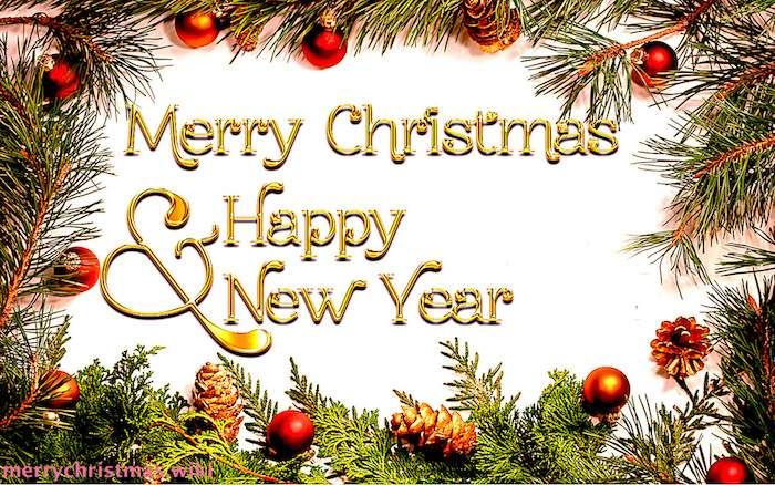 Merry Christmas And Happy New Year 2020 Wishes Images Greetings And Quotes Merry Christmas And Happy New Year Merry Christmas Wishes Happy New Year Cards